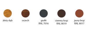 kolory podbitka